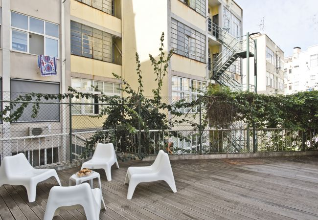 Apartment in Lisbon - Campo Pequeno Terrace Apartment (C90)